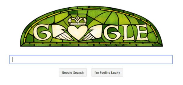 St. Patricks Google logo
