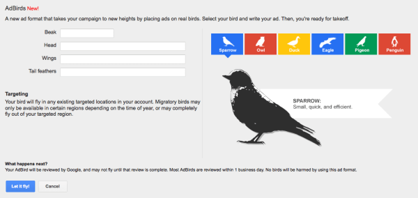 google-adbirds