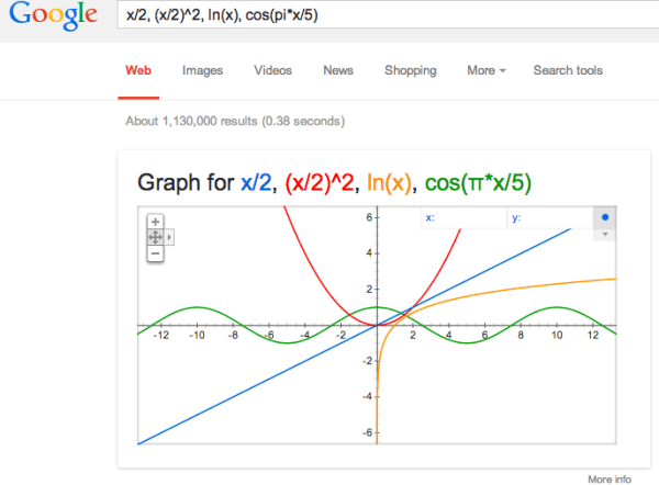 google-graphical-calculator