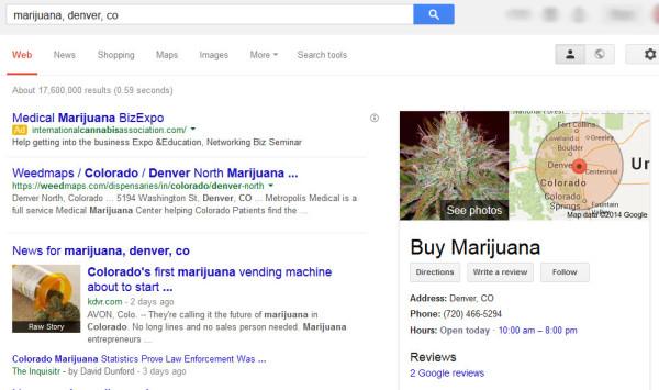 Marijuana Local Search Results - Google
