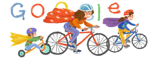 Google 2014 Mother's Day logo