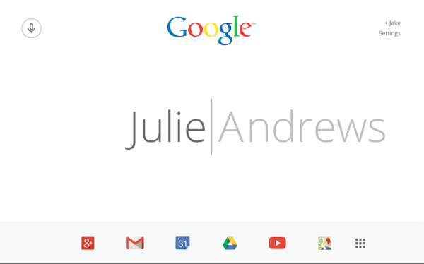 Letter Society Google redesign Jake