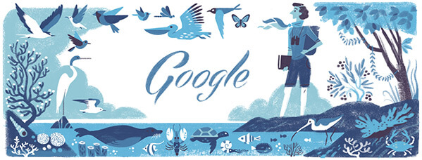 Rachel Carsons Google Logo