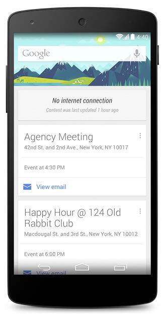 google-now-offline