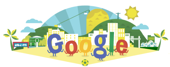 Google logo world cup 2014