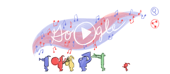 July 4 2014 Google Logo