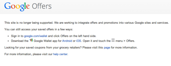 google-offers-landing-page