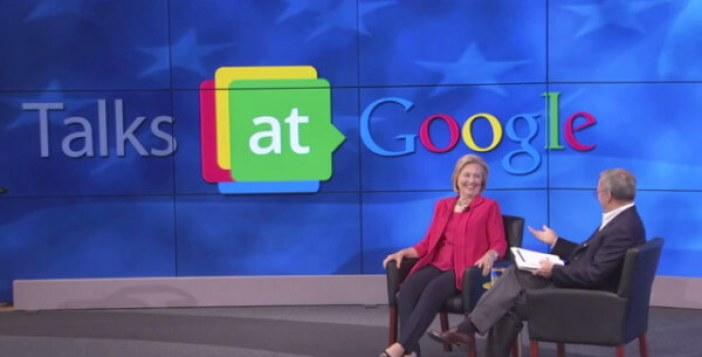 Resultado de imagen para google, hillary clinton