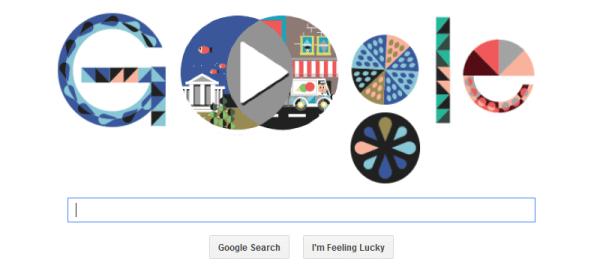 John Venn Google logo
