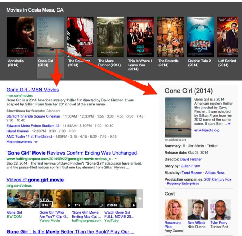 Bing Gone Girl example