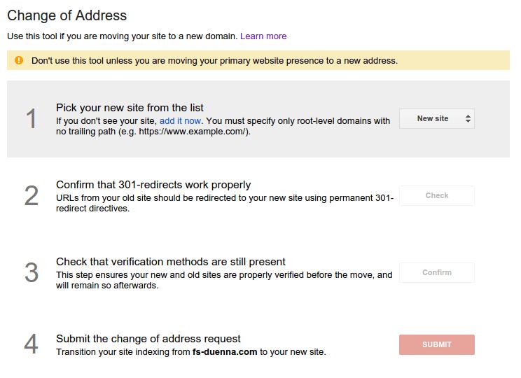 google-change-of-address-tool