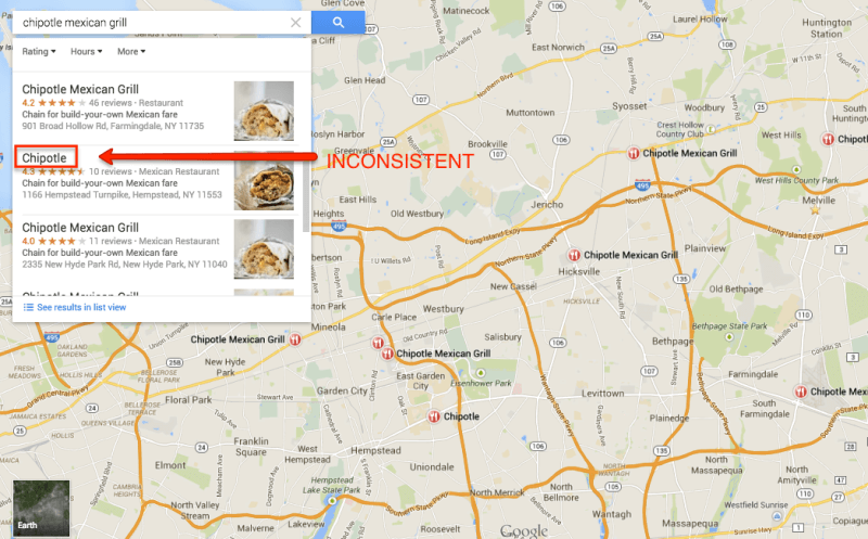 chipotle local listings