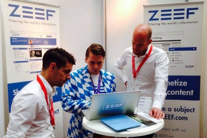 Demoing ZEEF at PMI Berlin