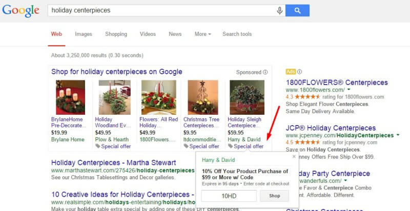 google shopping merchant promotions in plas