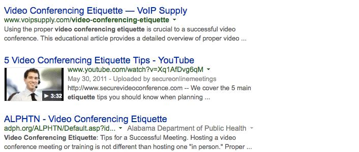 Schema Video Example