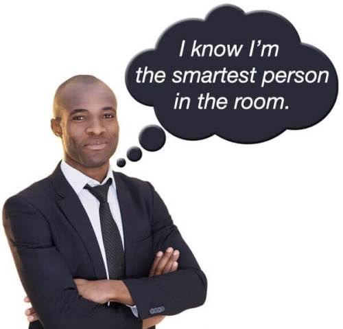 Be the Smartest Person in the Room
