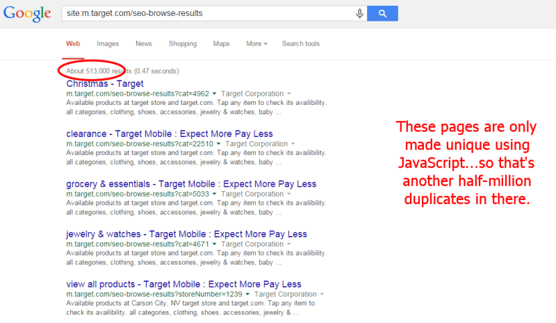 Target SEO Pages