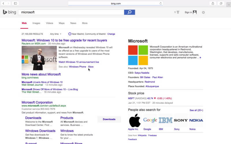 bing-test-google-design
