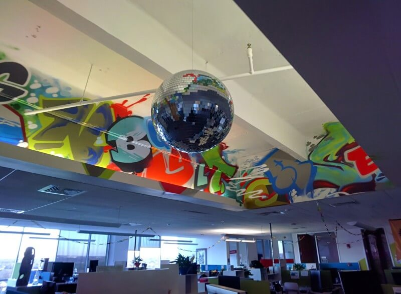 google-disco-ball