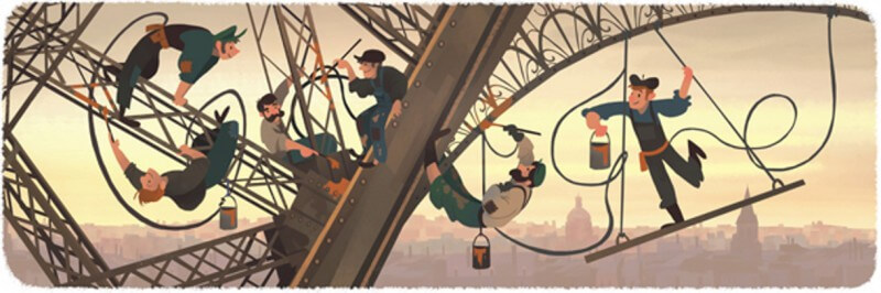 Google eiffel tower