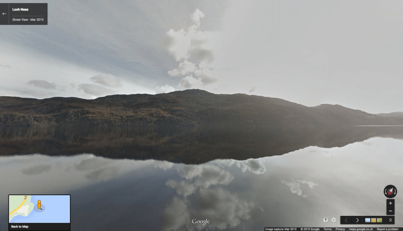 Loch Ness Street View Google Map