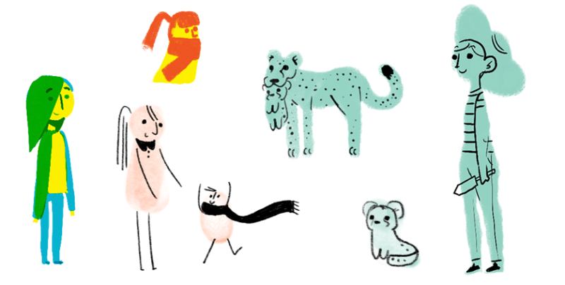 Google Mother's Day 2015 sketches
