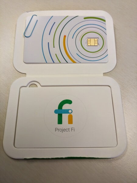 Google Project Fi SIM Card