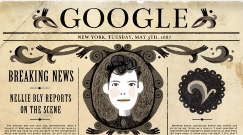 Nellie Bly google logo
