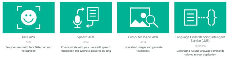 Project Oxford capabilites Microsoft