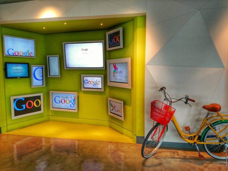 Google Chile Lobby