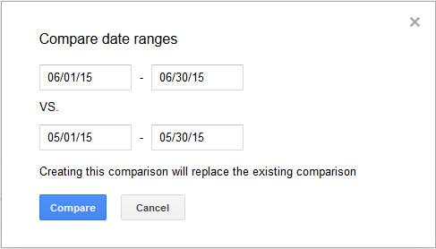Compare Dates in GSC