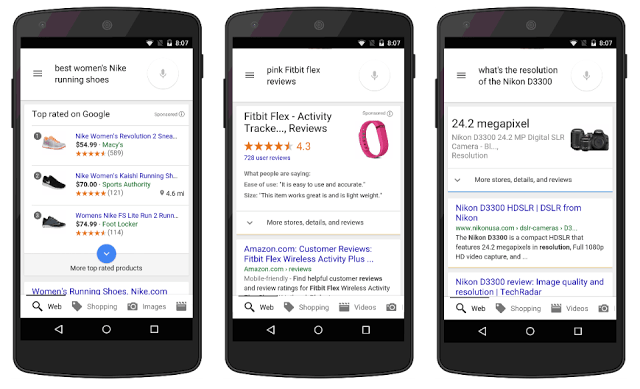 new google shopping for mobile ads