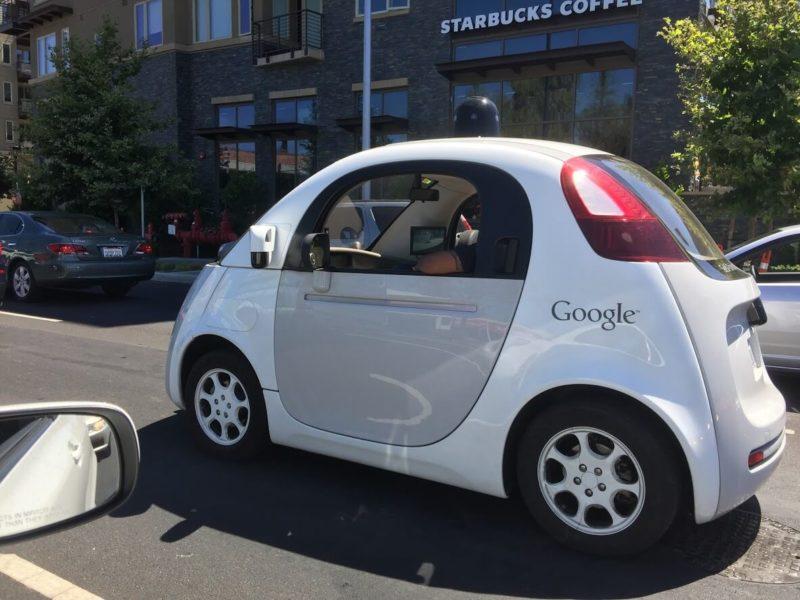 Cute Google Self Driving Car