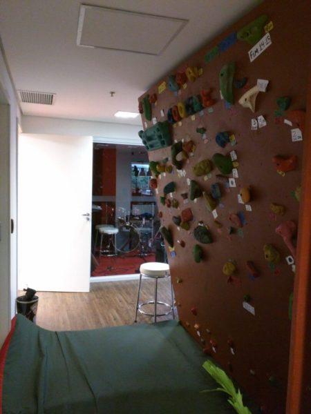 Google Brazil Climbing Wall
