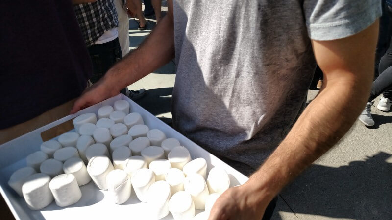 Real Marshmallows At Google