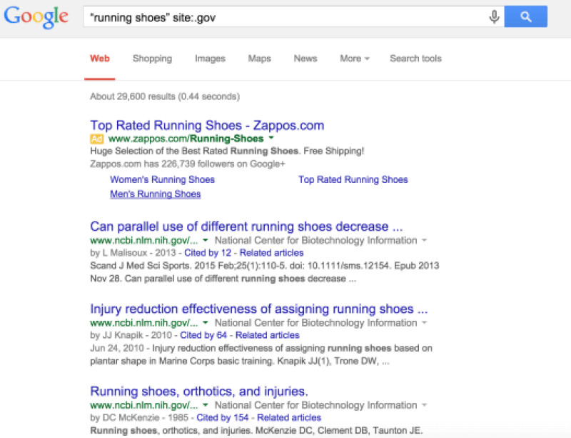 running shoes site gov
