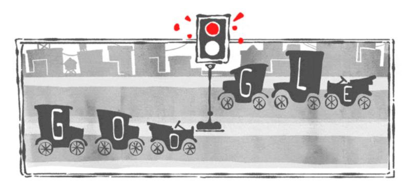 traffic light doodle