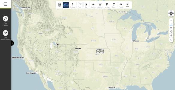 New Mapquest UI