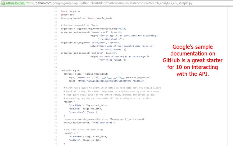 Github Code Sample 2
