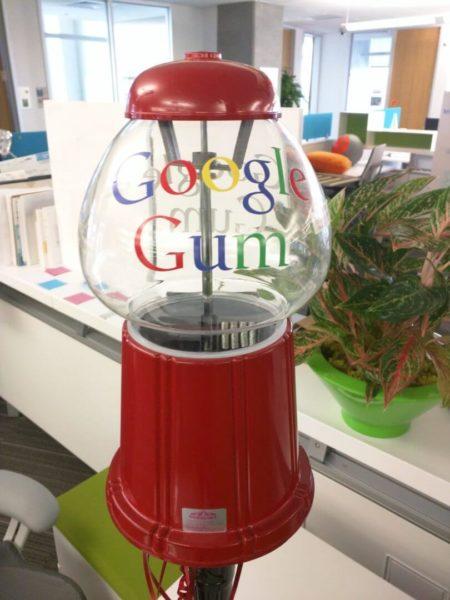 Google Gum Ball Machine
