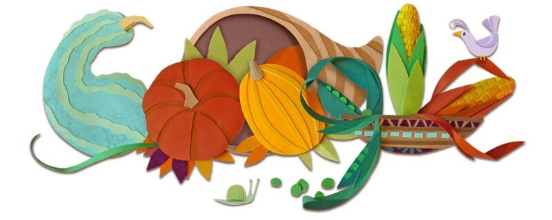 Google thanksgiving logo 2015
