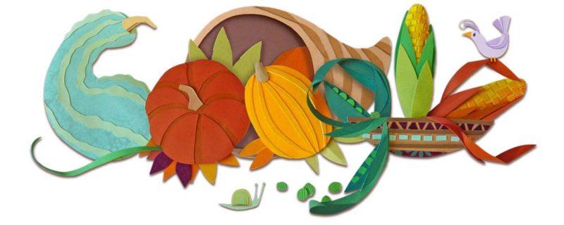 Google thanksgiving logo 2015