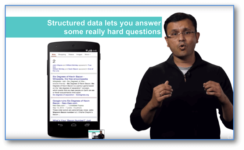 Structured Data Lets Google answer some really hard questions