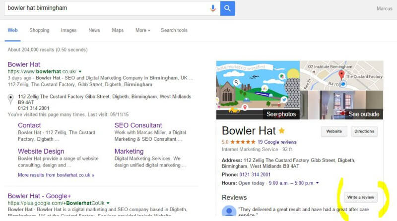 How to direct customers to leave you a review on Google Business