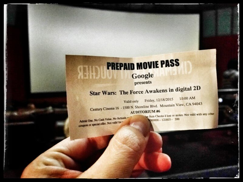 Google Gifts Googlers Tickets To Star Wars Movie