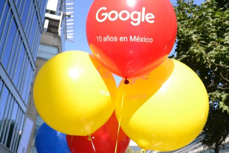 Google Mexico Celebrates 10th Birthday