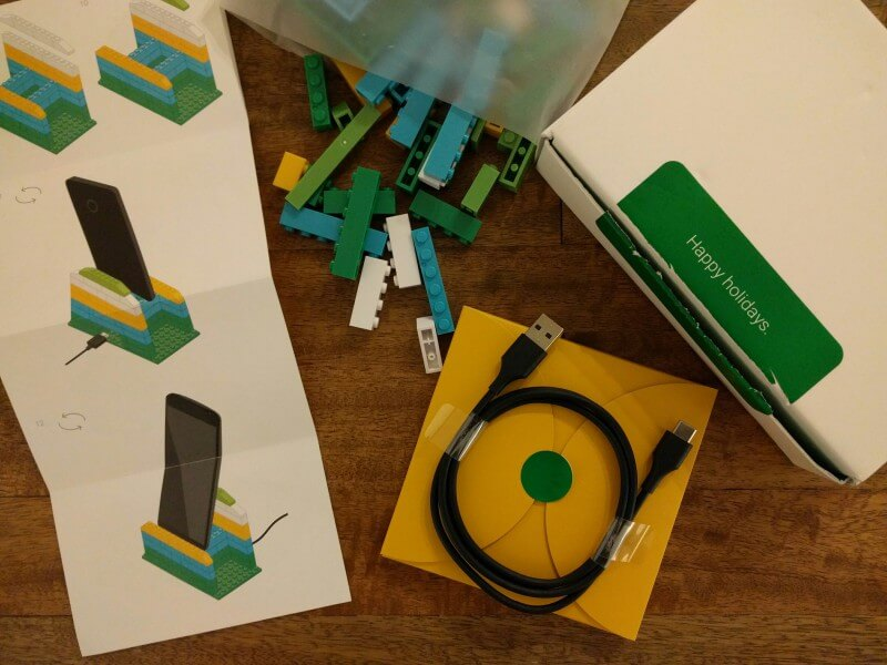 Google Project Fi Phone LEGO Stand