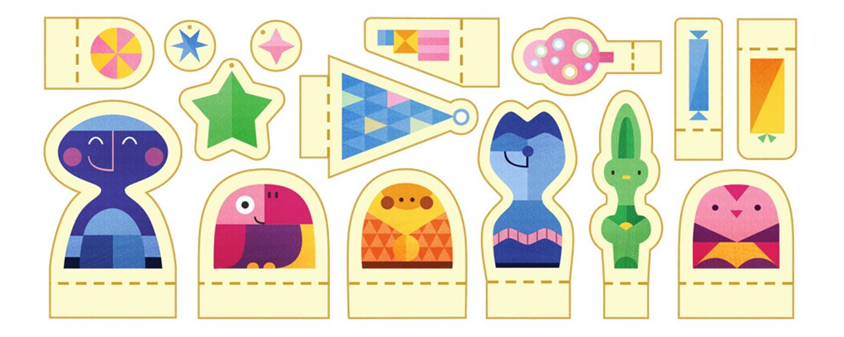 Tis The Season For Holiday Google Doodles Of Papercraft