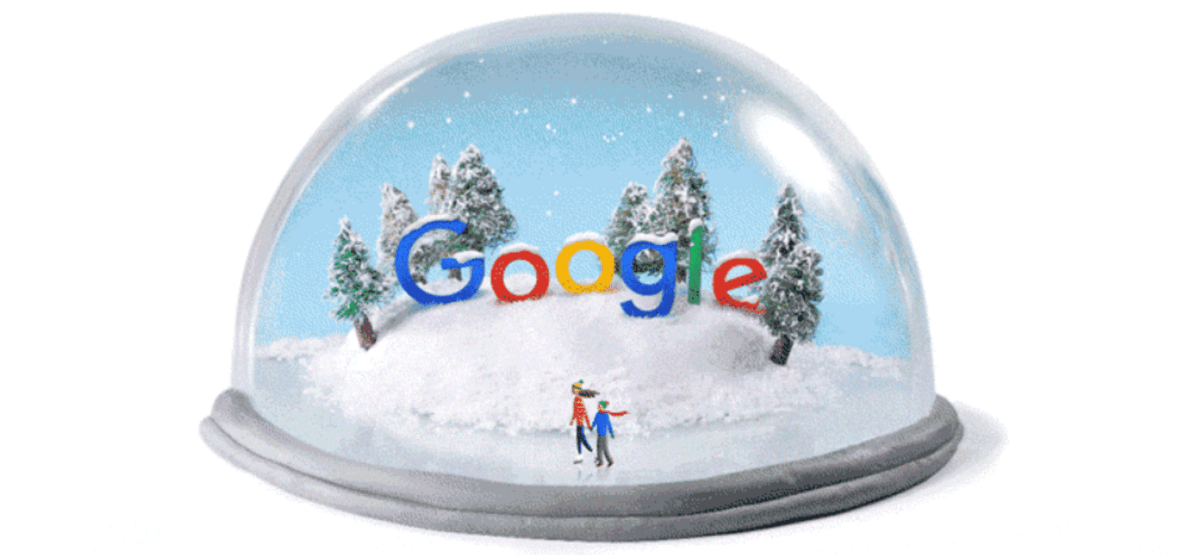Google winter doodle