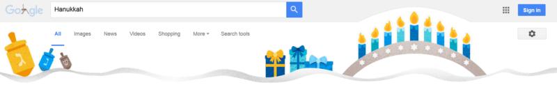 Hanukkah search image